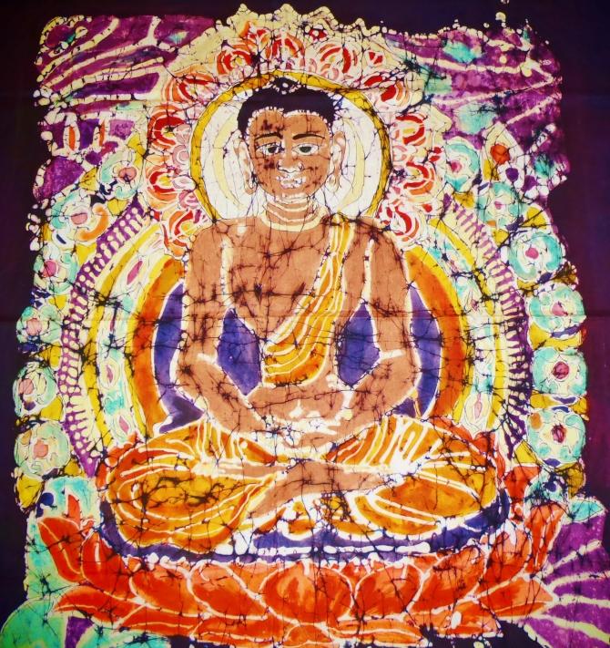 Buddha (Batik)