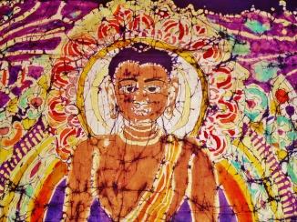Buddha Close-up Batik